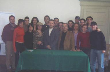 """Gli alunni partecipanti al progetto """"Giovani e impresa"""""""